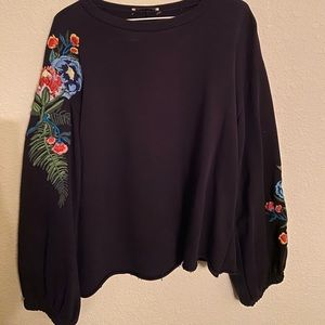 Zara Floral Sweater